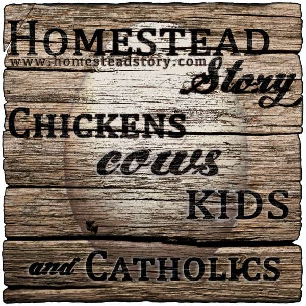 Homestead Story – Chickens, Cows, Kids, and Catholics