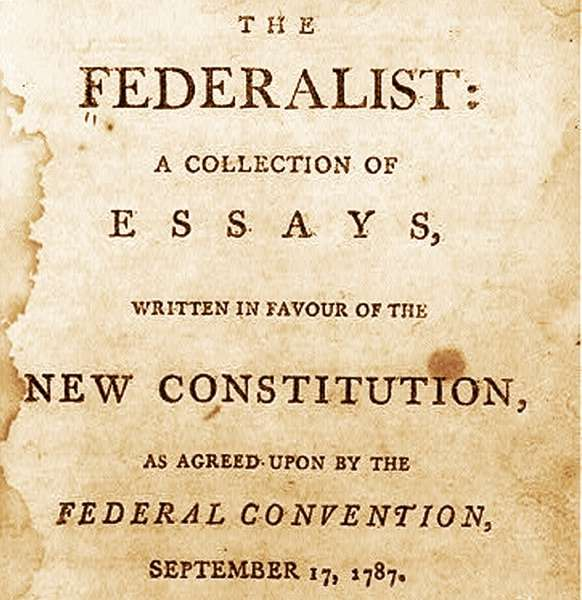 The Federalist Papers – Steve DePasquale, Scott Kistler and Kenneth West