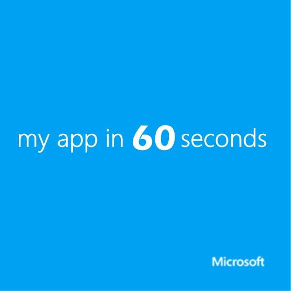 my app in 60 seconds (MP4) – Channel 9