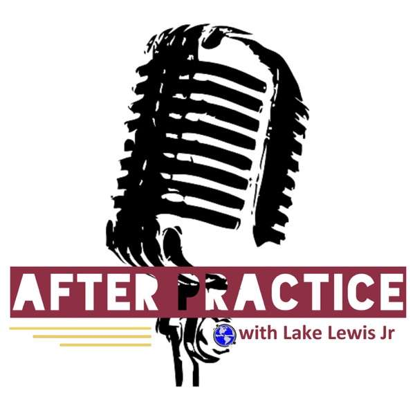After Practice with Lake Lewis Jr